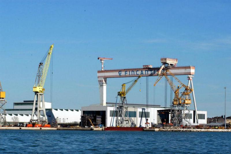 Fincantieri-stabilimento di Ancona