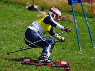 Antonella Manzoni, campionessa sci d'erba