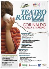 "locandina Teatro ragazzi - ""Corinaldo Estiva 14"""