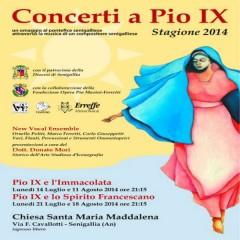 Concerti a Pio IX-locandina