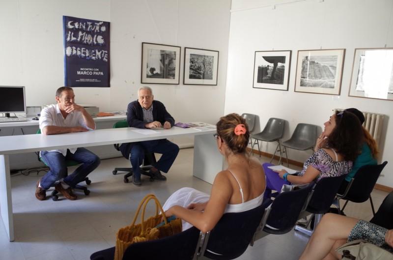 Corso di restauro fotografico al Musinf di Senigallia