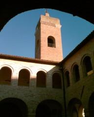 chiostro ex-Convento San Francesco - Ostra Vetere