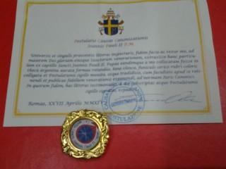 Reliquia di Giovanni Paolo II