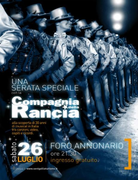 Serata speciale con la Compagnia della Rancia