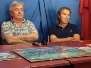 Valentino Mandolini e Dino Giuliani