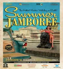 Summer Jamboree, poster 2014