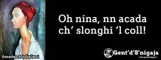 Gent'd'S'nigaja - Amedeo Modigliani
