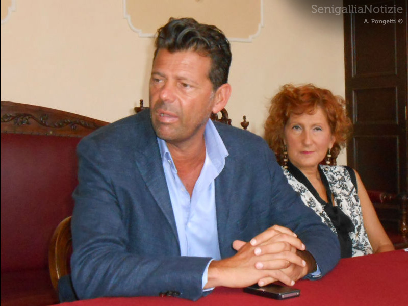 Maurizio Mangialardi e Francesca Michela Paci