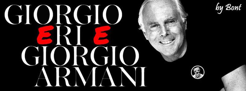 Gent'd'S'nigaja - Giorgio Armani