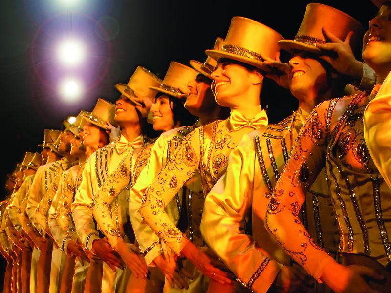 La Compagnia della Rancia in un musical