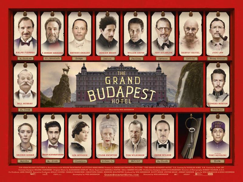 "locandina film ""Grand Budapest Hotel"""