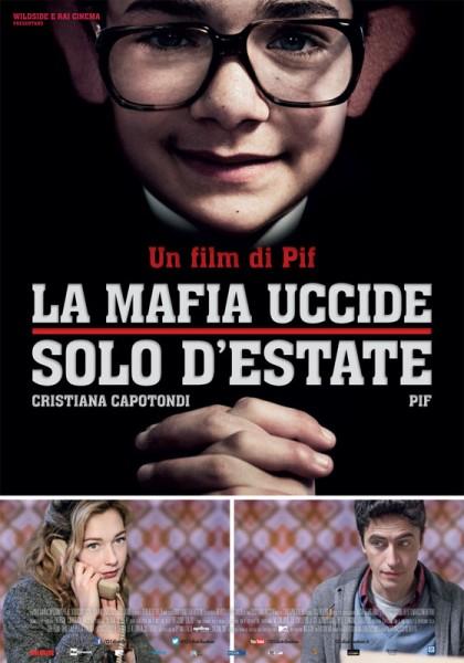 """locandina """"La mafia uccide solo d'estate"""""""