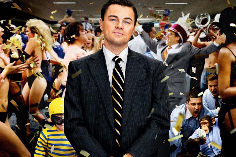 "locandina ""The Wolf of Wall Street"""
