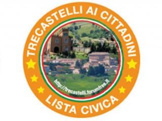 """logo della lista """"Trecastelli ai cittadini"""""""