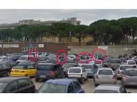 Parcheggiatori abusivi nei pressi dell'ospedale civico di Senigallia