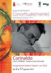"""manifesto Eugenio Morganti """"Concettuale(mente)"""""""