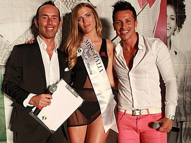 Giulia Donati con Marco Zingaretti e Francesco Capodacqua