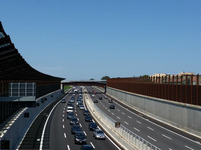Traffico A14