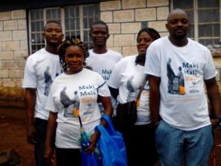 Team dei Jeneba's Mates in Sierra Leone