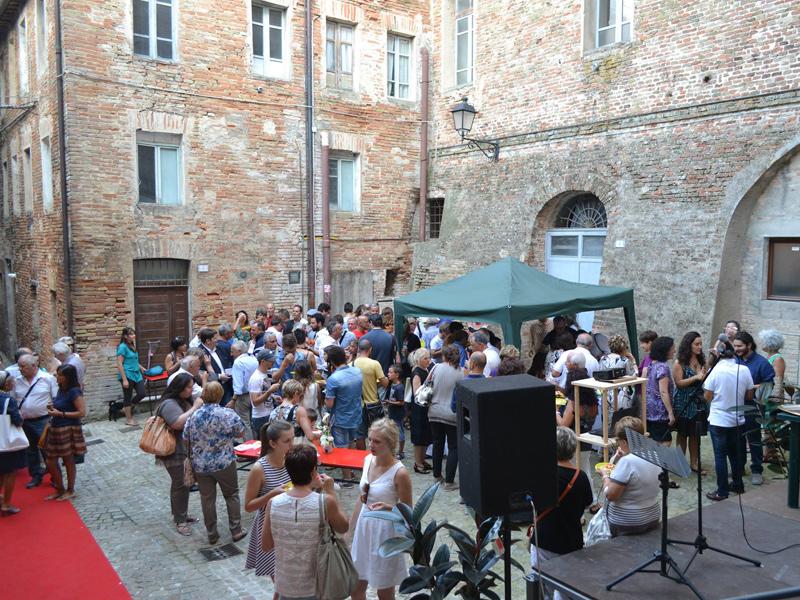 Evento in piazza ad Ostra