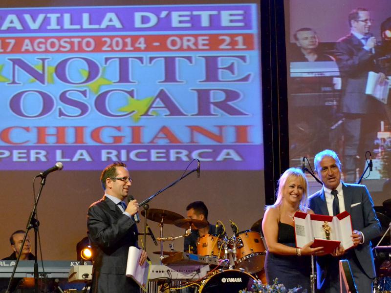 Notte degli Oscar Marchigiani 2014, riconoscimento alla d.ssa Rossana Berardi