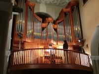 Concerto all'organo nella chiesa del Portone di Senigallia per il Festival Organistico Internazionale