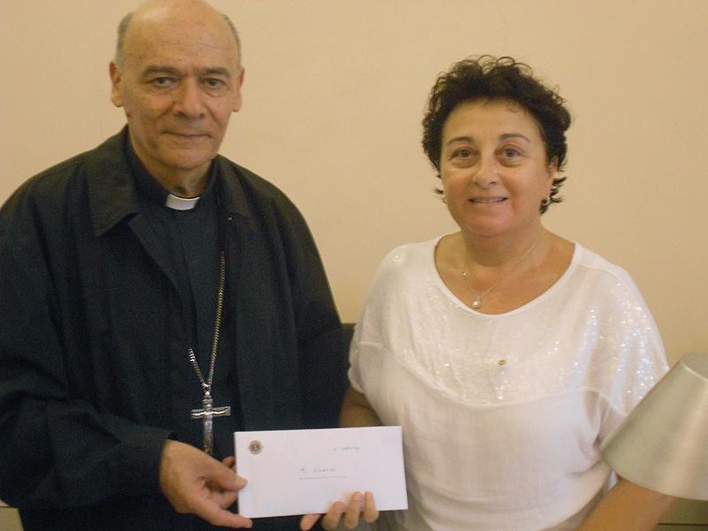 Giuseppe Orlandoni e Laura Amaranto