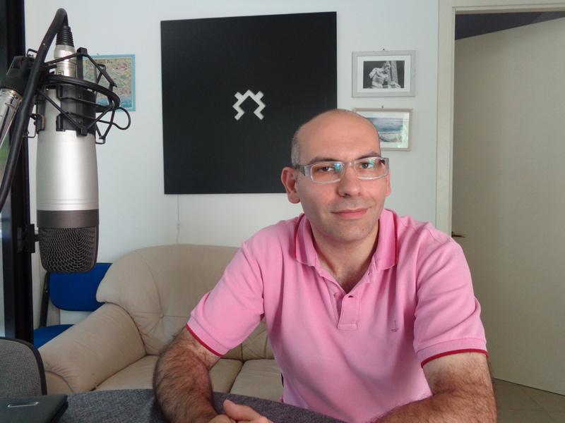 Mario Fiore intervistato alla Netservice di Senigallia