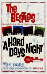 "locandina ""A Hard Days Night"""