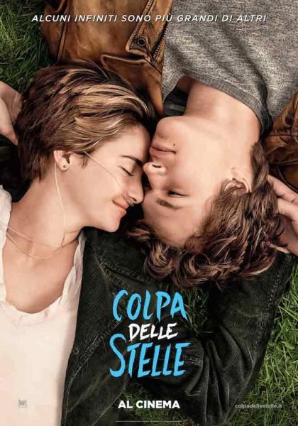 """locandina film """"Colpa delle stelle"""""""