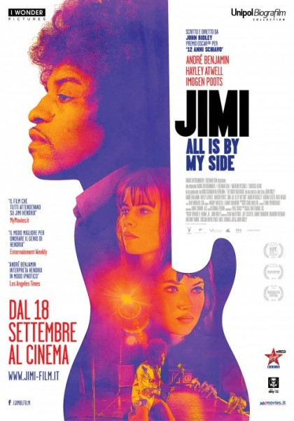 """poster """"Jimi-all is by my side"""""""