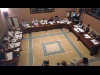 Il consiglio comunale a Ostra