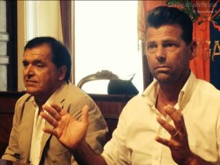 Daniele Sordoni e Maurizio Mangialardi