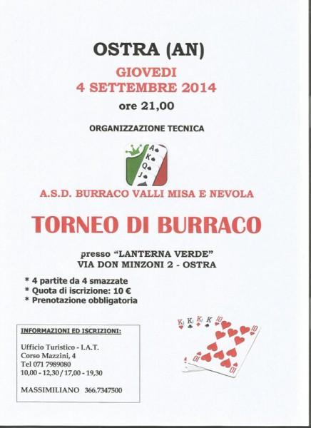 torneo di burraco - Pro Loco Ostra