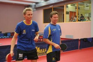 Atleti svedesi al Centro Olimpico Tennistavolo di Senigallia