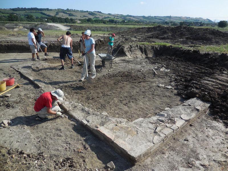 scavi Santa Maria in Portuno