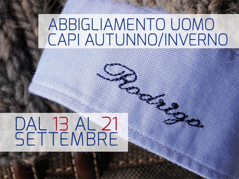 Temporary Shop abbigliamento uomo collezzione autunno/inverno 2014 marchio rodrigo