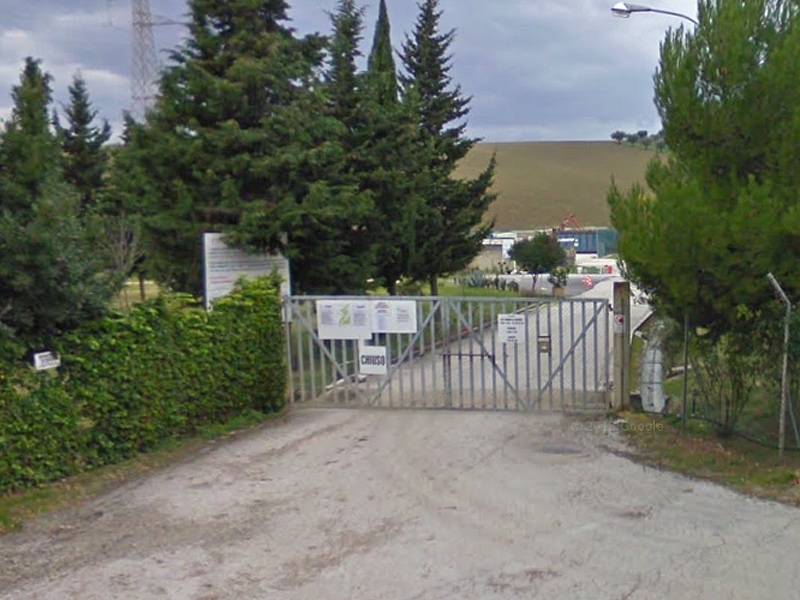 Il centro ambiente a Sant'Angelo di Senigallia, in via dei Vasari