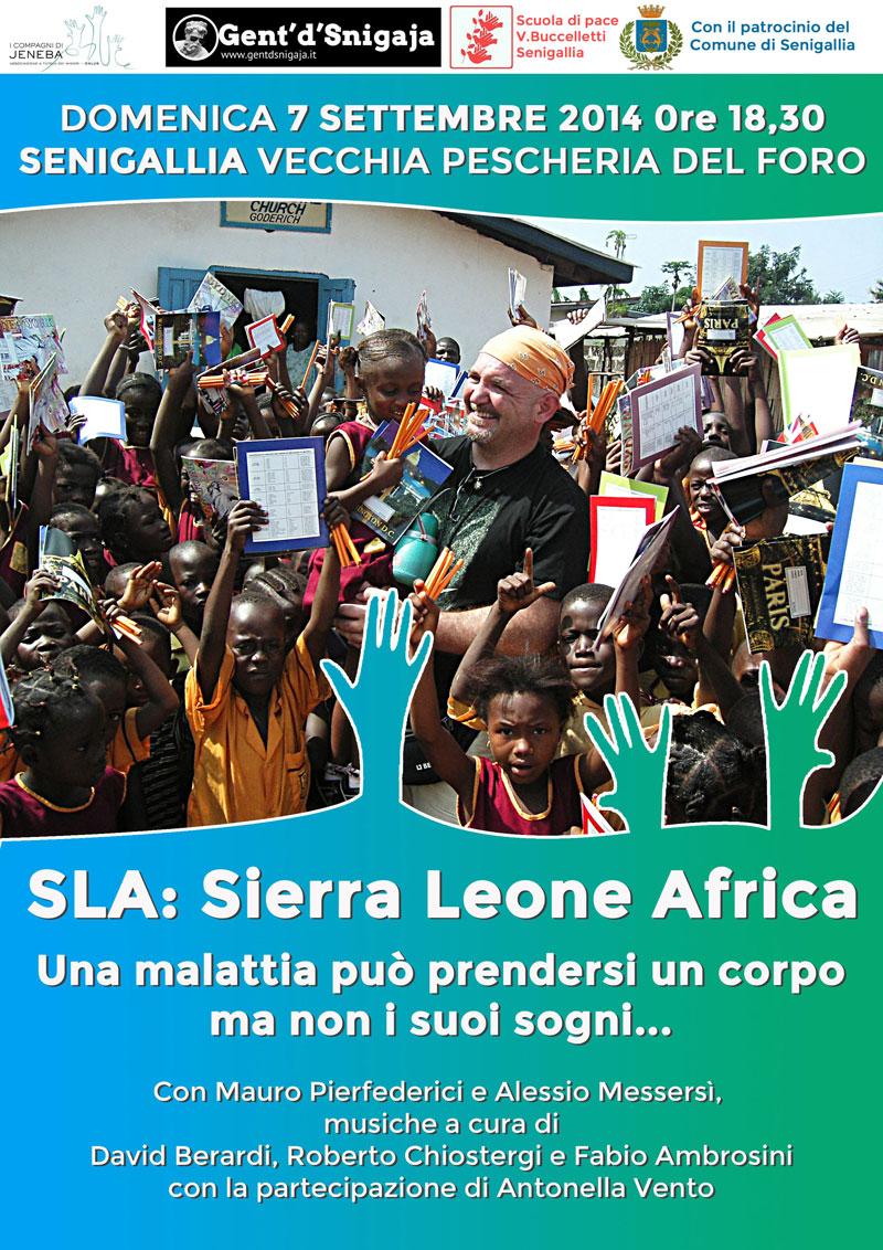 manifesto evento SLA: Sierra Leone Africa