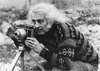 Mario Giacomelli, foto di M.Martino