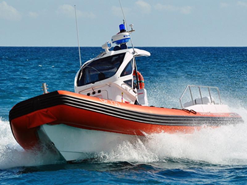 motovedetta della Guardia Costiera di Senigallia