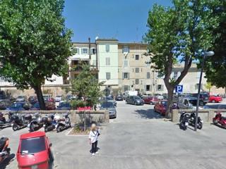 Il parcheggio di viale Leopardi, a Senigallia