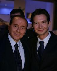 Silvio Berlusconi ed Enrico Rimini