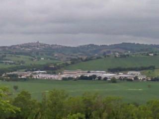 La zona industriale a Pongelli di Ostra Vetere