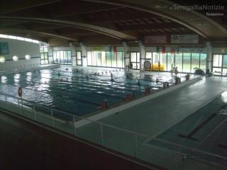 La piscina delle Saline, a Senigallia, interno
