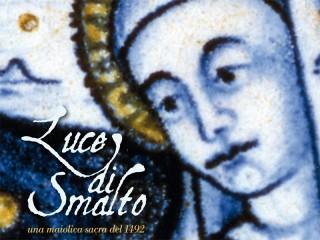 Locandina di Luce di Smalto al Museo Pio IX di Senigallia