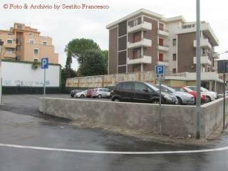 Il nuovo parcheggio all'ex-Arena Italia - Foto Francesco Sestito