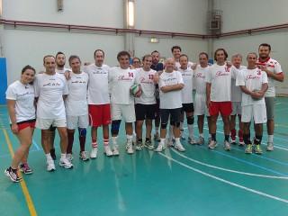 Le prime due squadre partecipanti al 3° memorial Giuliano Pierangeli, a Senigallia