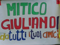 Cartellone al 3° memorial Giuliano Pierangeli, a Senigallia