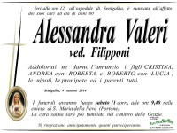 Alessandra Valeri, necrologio